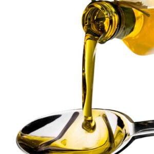 Muestra del aceite de Quiroga