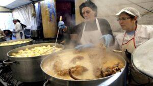 Fiesta del Cocido del Porco Celta en Sarria