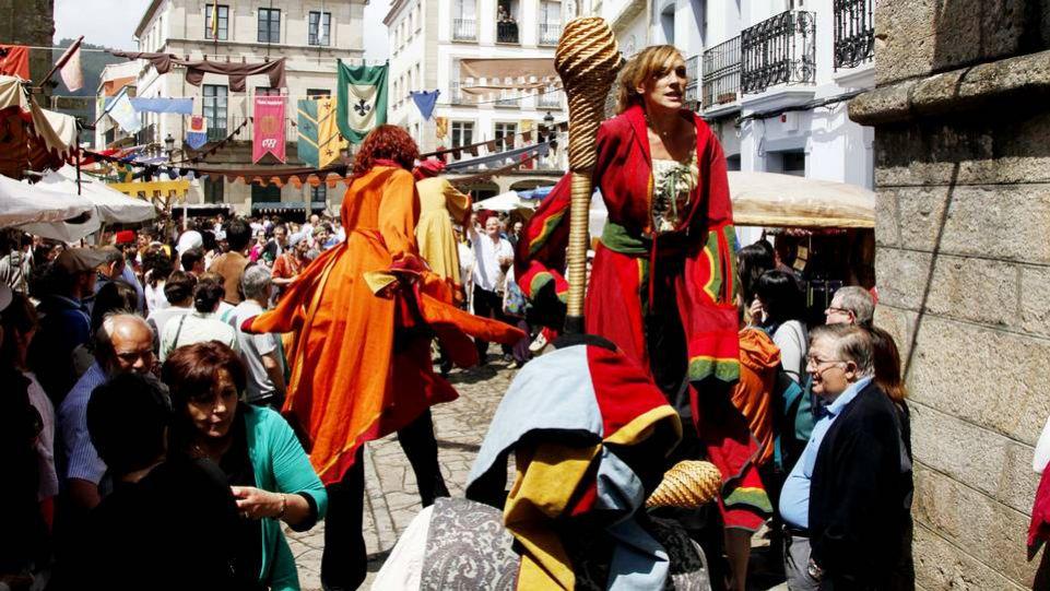 Feira Medieval en Noia 1