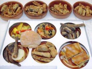 Fiesta de la anguila y caña del país de Valga